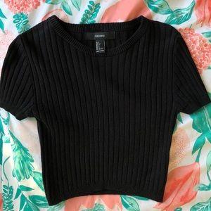 Black forever 21 Shirt